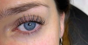 After Nouveau Eyelash Extensions treatment