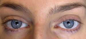 Before Nouveau Eyelash Extensions treatment