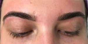 After HD Brows treatment