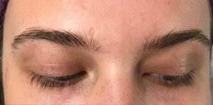 Before HD Brows treatment