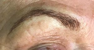 After Everlasting Microblading Brows treatment