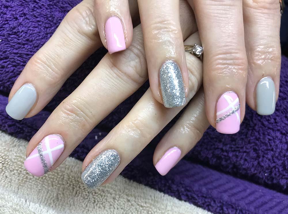 Calgel nail treatment