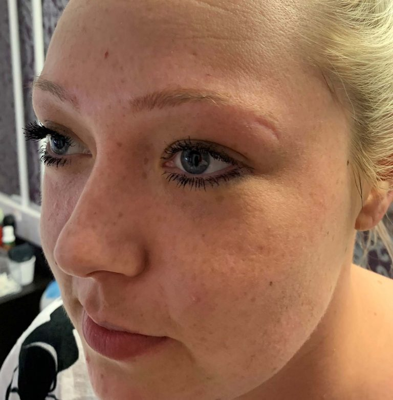 Semi Permanent Makeup Before
